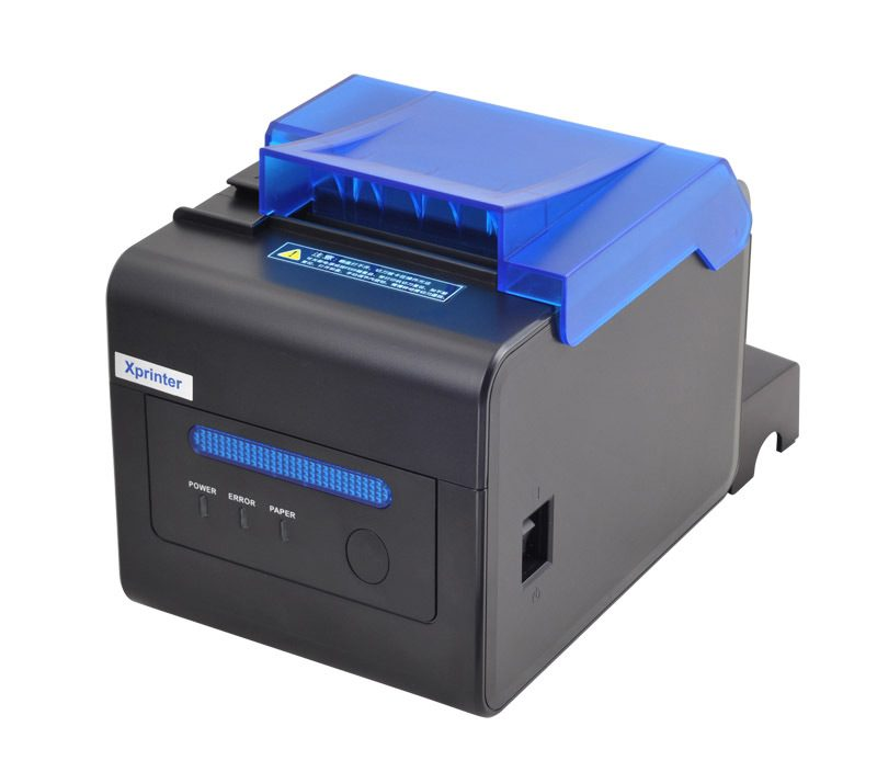 Принтер мультипортовый XP-C300H 80mm Receipt Printer Thermal USB+Lan+Serial